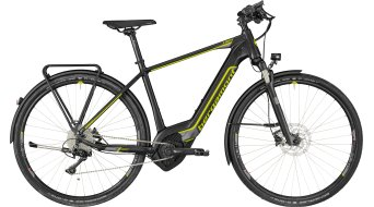 "Bergamont E-Helix Expert Gent 28"" E-Bike Komplettbike black/dark silver/lime (matt) Mod. 2018"