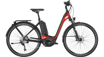 "Bergamont E-Ville XT 28"" E-Bike Komplettbike black/red (matt/shiny) Mod. 2018"
