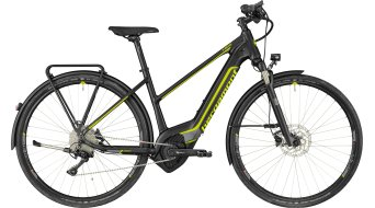 "Bergamont E-Helix Expert Lady 28"" E- bike bike ladies version black/dark silver/lime (matt) 2018"