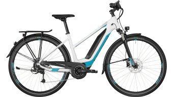 """Bergamont E-Horizon 7.0 400 Lady 28"""" E- vélo vélo femmes-roue taille 52cm white/coral blue/argent (matt) Mod. 2018"""