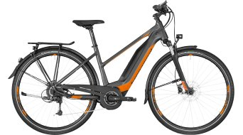 "Bergamont E-Horizon 6.0 Lady 28"" e-bike damesfiets Gr. grey/orange/silver (mat) model 2018"