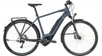 "Bergamont E-Helix 8.0 EQ Gent 28"" E-Bike bici completa . cm dark bluegrey/black/blue (opaco) mod. 2019"