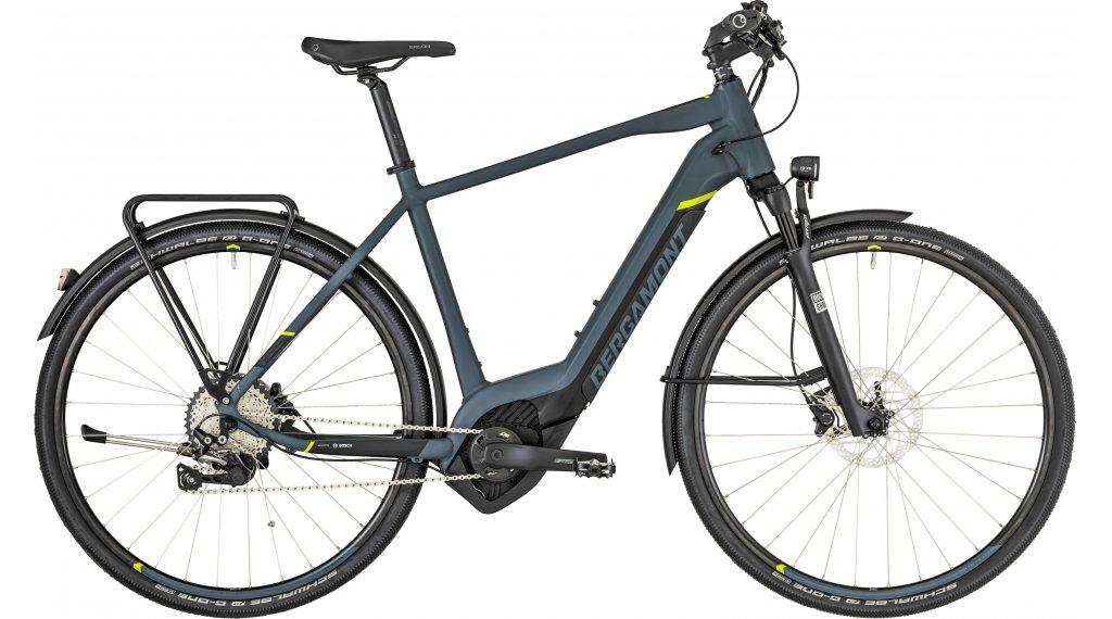 "Bergamont E-Helix Expert EQ Gent 28"" E-Bike 整车 型号 48厘米 dark grey/black/青柠色 (matt) 款型 2019"