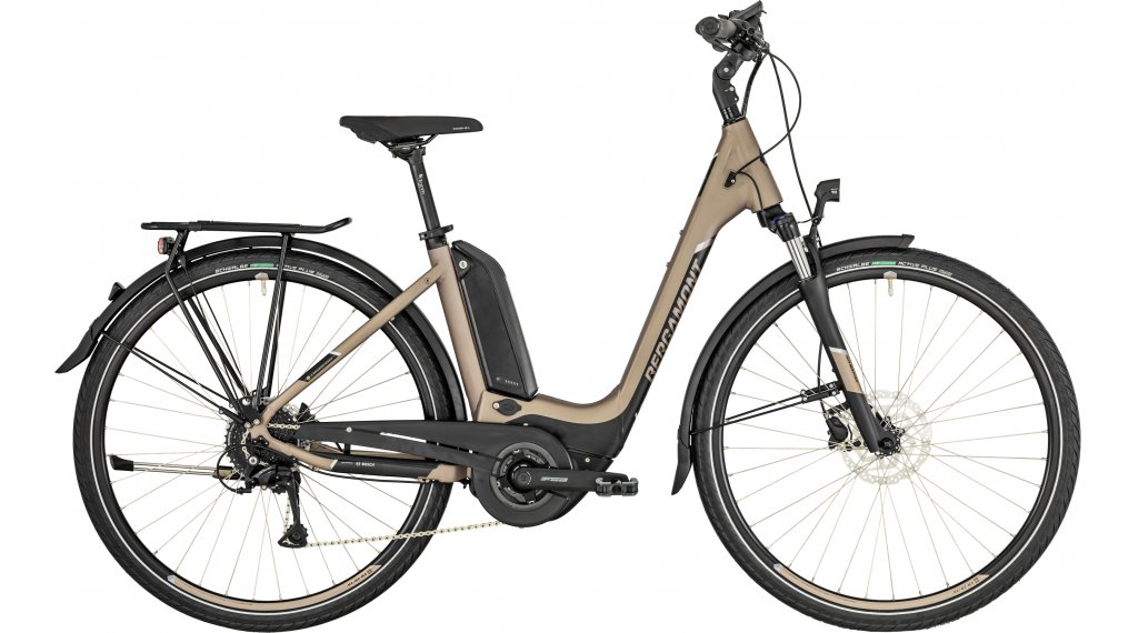 "Bergamont E-Horizon 6.0 Wave 26"" E-Bike 整车 型号 44厘米 silver bronce/black/grey (matt) 款型 2019"