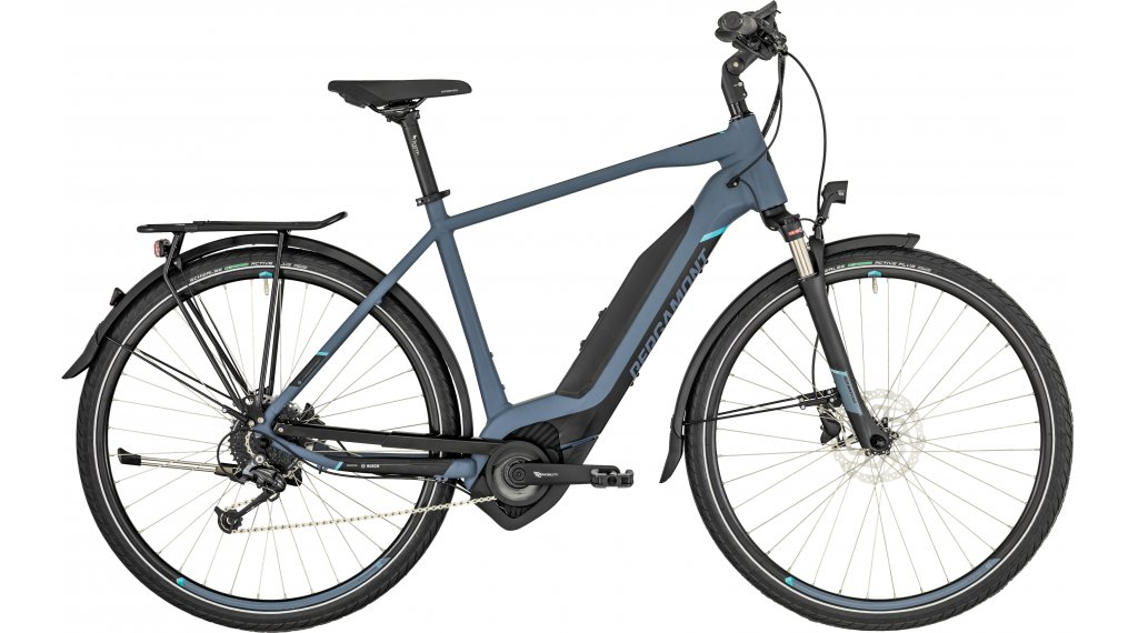"Bergamont E-Horizon 7.0 Gent 500 28"" E-Bike 整车 型号 48厘米 bluegrey/black (matt) 款型 2019"
