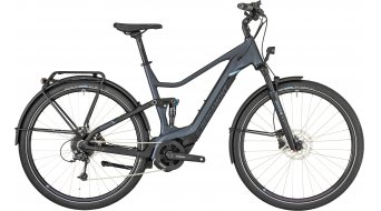 "Bergamont E-Horizon FS Edition 28"" E-Bike 整车 型号 silver blue/black/blue (satin/matt) 款型 2019"