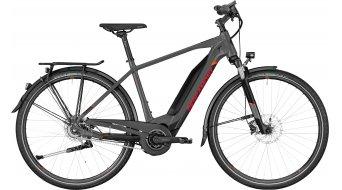 "Bergamont E-Horizon N8 FH 500 Gent 28"" E-Bike bici completa tamaño 52 cm anthracite/negro/rojo (color apagado) Mod. 2019"