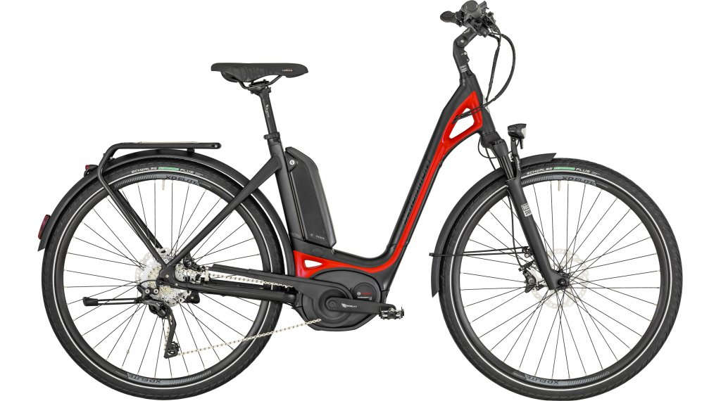 "Bergamont E-Ville XT 28"" E-Bike 整车 型号 48厘米 black/red (matt/shiny) 款型 2019"