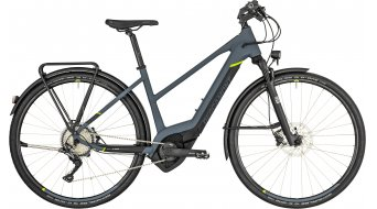 "Bergamont E-Helix Expert EQ Lady 28"" E- bike bike ladies version cm dark grey/black/lime (matt) 2019"