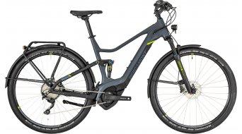 """Bergamont E-Helix FS Expert EQ 28"""" E- bike bike ladies version cm dark grey/black/lime (matt) 2019"""