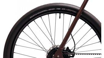 Coboc ONE Brooklyn Fat 27.5 E-Bike Komplettrad Gr. S jugla brown matt/metallic Mod. 2021