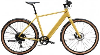 "Coboc TEN Merano Ltd. 27.5"" E-Bike Komplettrad sand gold matt Mod. 2020"
