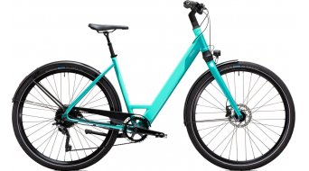 Coboc SEVEN Kallio Comfort Ltd. 28 E-Bike Komplettrad Gr. S neon mint/reef turquoise metallic Mod. 2021