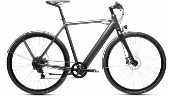 "Coboc SEVEN Montreal 28"" e-bike fiets diorit grey metallic hoogglans model 2020"