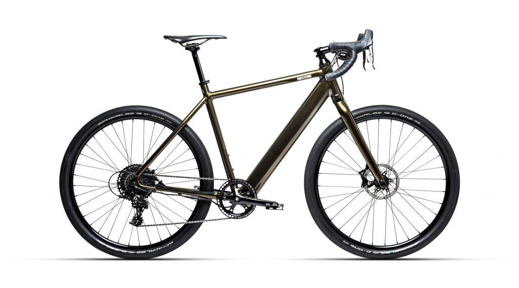 """Coboc TEN Torino 27.5"""" E-Bike Komplettrad Gr. S silent green metallic hochglanz Mod. 2020"""