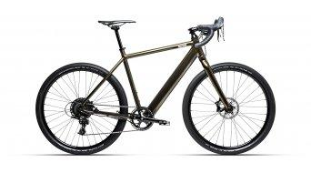 "Coboc TEN Torino 27.5"" E-Bike Gravel bici completa silent verde metallic hochglanz Mod. 2021"