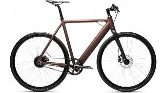 "Coboc ONE Brooklyn 28"" E- bike bike julga brown/matt metallic 2019"
