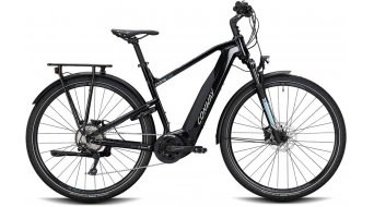 "Conway Cairon T 300 28"" E-Bike Trekking 整车 型号 black/lightblue 款型 2020"