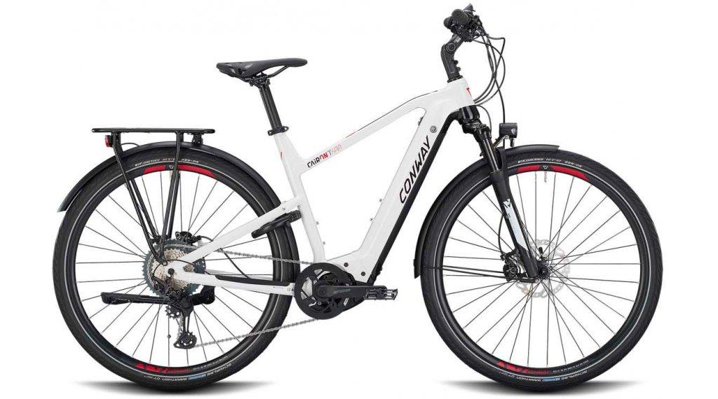 "Conway Cairon T 600 28"" E-Bike Trekking Komplettrad Gr. M white/black Mod. 2020"