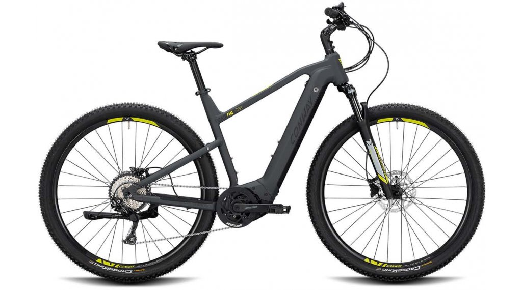 "Conway Cairon X 300 28"" E-Bike Cross 整车 型号 XL grey matt/black matt 款型 2020"