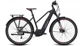 "Conway Cairon T 200 SE 500 28"" E-Bike Trekking 整车 女士 型号 XL black matt/red 款型 2020"