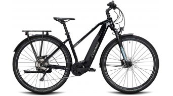 "Conway Cairon T 300 28"" e-bike trekking fiets dames black/lightblue model 2020"