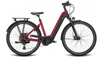 "Conway Cairon T 500 28"" E-Bike Trekking 整车 女士 型号 M darkred matt/black matt 款型 2020"