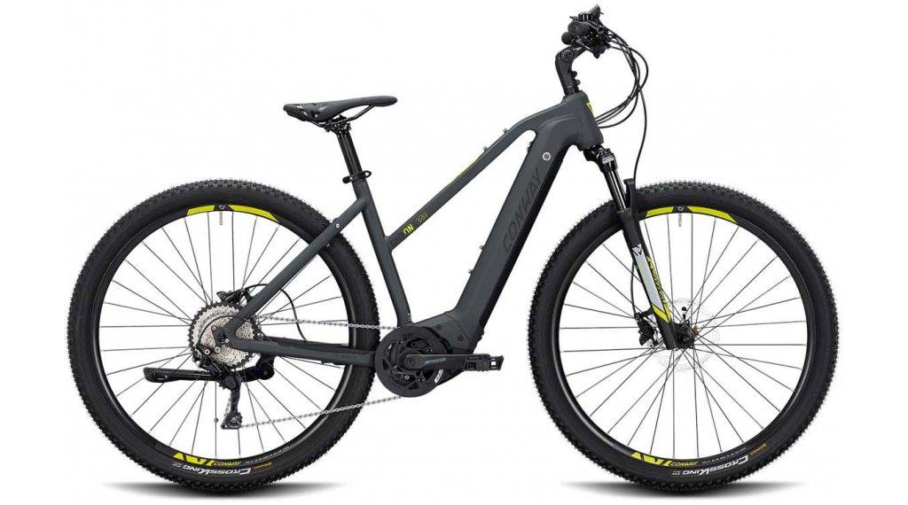 "Conway Cairon X 300 28"" E-Bike Cross 整车 女士 型号 L grey matt/black matt 款型 2020"