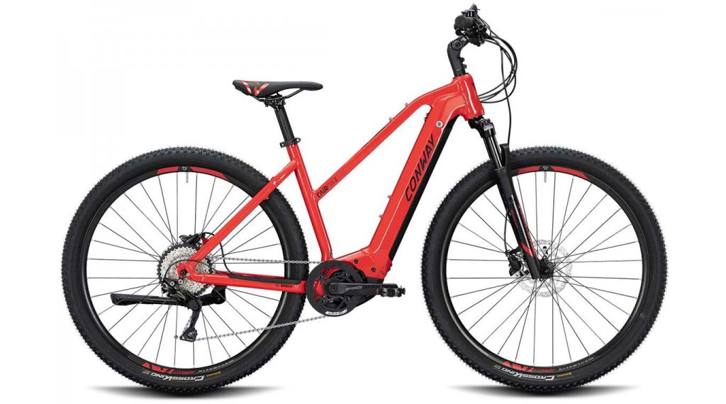 "Conway Cairon X 300 28"" E- bike Cross bike ladies size S red/black matt 2020"