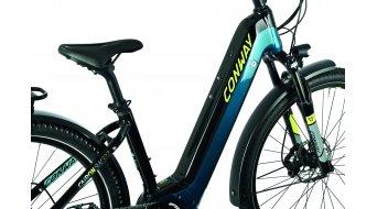 "Conway Cairon SUV 327 27.5"" E-Bike MTB Komplettrad petrol/acid Mod. 2021"