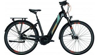 """Conway Cairon T 170 500 28"""" E-Bike trekking bici completa mis. L nero/grigio arancione mod. 2021"""