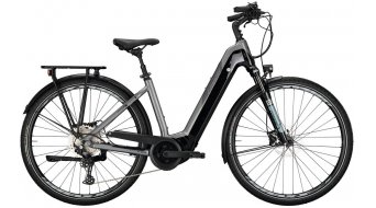 "Conway Cairon T 300 500 28"" E-Bike Trekking Komplettrad Gr. S silver/shadowgrey Mod. 2021"