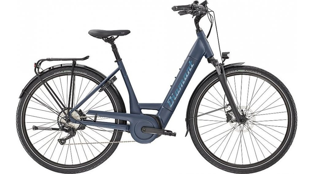 "Diamant Mandara Deluxe+ TIE 28"" E-Bike City/Urban Komplettrad Gr. XS tansanitblau Mod. 2021"