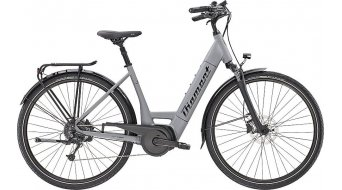 "Diamant Mandara+ TIE 28"" e-bike fiets graphitgrau model 2021"