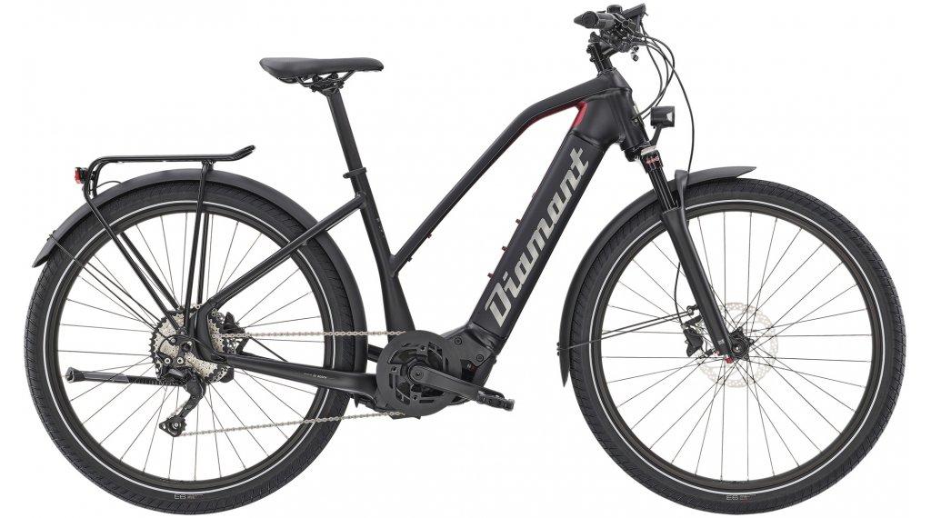 """Diamant Zouma Deluxe+ GOR 27.5"""" E-Bike City/Urban bici completa mis. M tief nero/rhodonit metallico mod. 2021"""