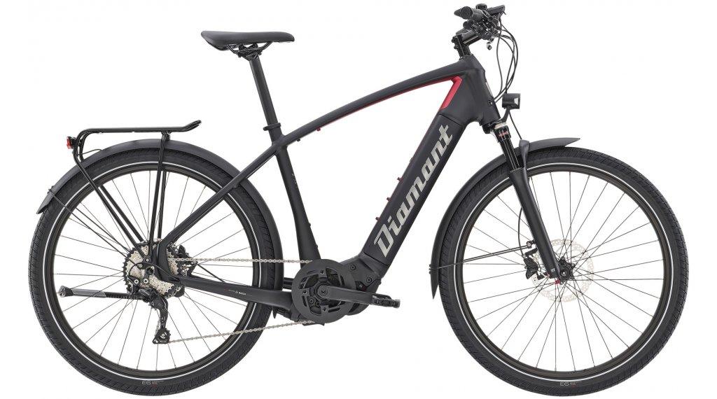 """Diamant Zouma Deluxe+ HER 27.5"""" E-Bike City/Urban bici completa mis. XL tief nero/rhodonit metallico mod. 2021"""