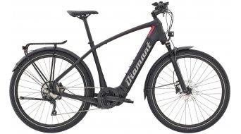 """Diamant Zouma Deluxe+ HER 27.5"""" E-Bike City/Urban bici completa tiefschwarz/rhodonit metallic Mod. 2021"""