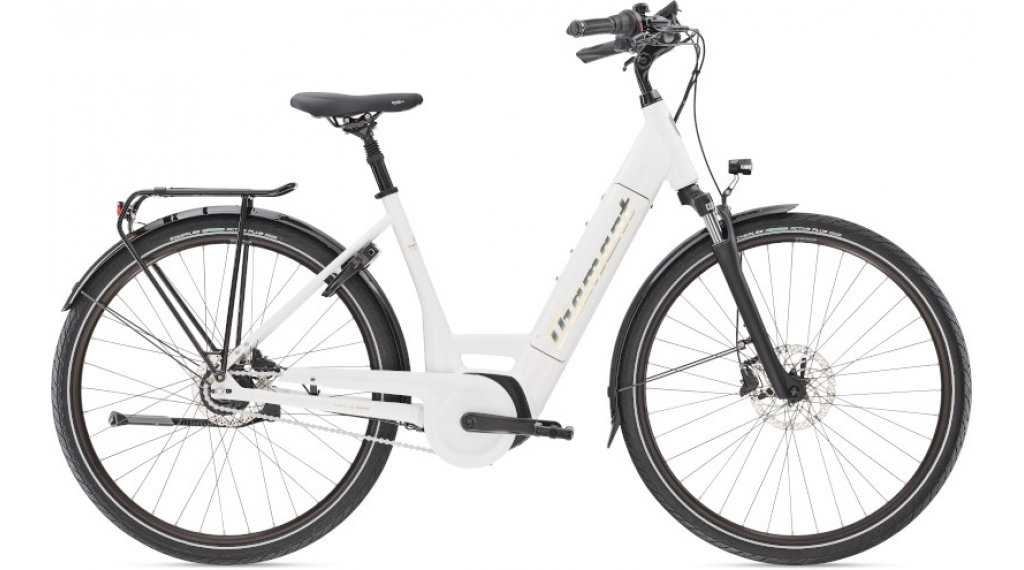 "Diamant Beryll Deluxe+ RT TIE 28"" E-Bike City/Urban Komplettrad Gr. XS weiss Mod. 2021"