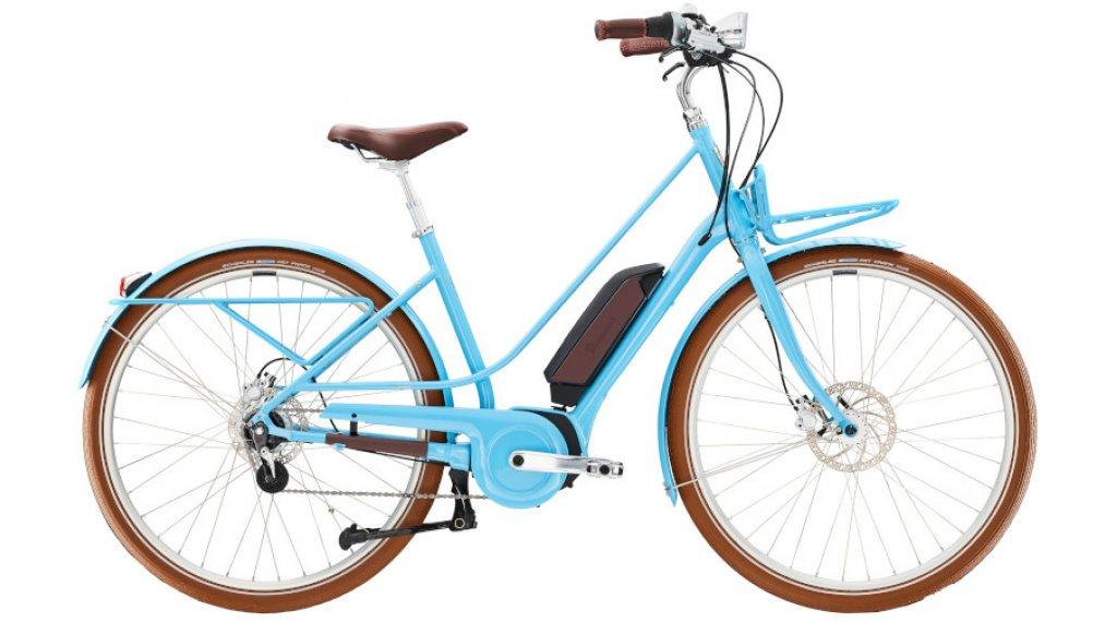 "Diamant Juna Deluxe+ WIE 28"" E-Bike City/Urban Komplettrad Gr. M trabiblau Mod. 2022"