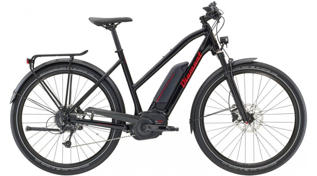"Diamant Elan+ GOR 27.5"" E-Bike 整车 型号 M tiefschwarz 款型 2020"