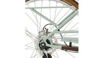 "Diamant Juna Deluxe+ WIE 400Wh 28"" E-Bike 整车 型号 M moreagrün 款型 2020"