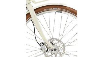 """Diamant Juna Deluxe+ WIE 400Wh 28"""" E-Bike 整车 型号 M tofanaweiss 款型 2020"""