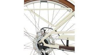 """Diamant Juna Deluxe+ WIE 500Wh 28"""" E-Bike 整车 型号 M tofanaweiss 款型 2020"""