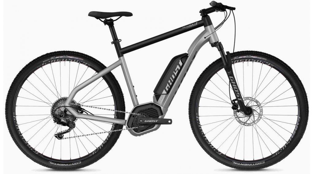 "Ghost Hybride Square Cross B2.9 AL U 29"" E-Bike 整车 型号 XL iridium silver/jet black 款型 2020"