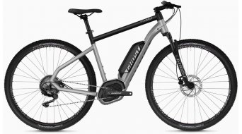 "Ghost Hybride Square Cross B2.9 AL en 29"" e-bike fiets iridium silver/jet black model 2020"