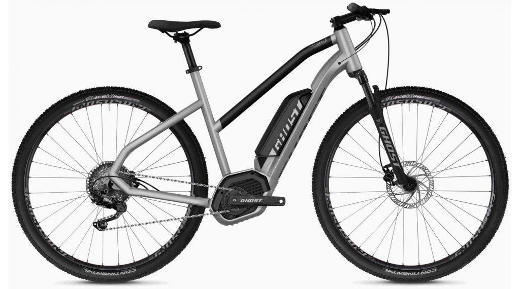 "Ghost Hybride Square Cross B2.9 AL W 29"" E-Bike 整车 女士 型号 S iridium silver/jet black 款型 2020"