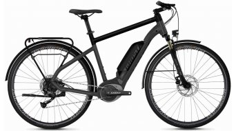 "Ghost Hybride Square trekking B1.8 AL en 28"" e-bike fiets titanium gray/jet black/iridium silver model 2020"