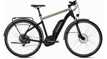 """Ghost Hybride Square trekking B5.8 AL U 28"""" Vélo électrique, jet noir/ext or Mod. 2020"""