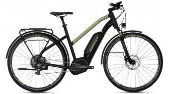 "Ghost Hybride Square Trekking B5.8 AL W 28"" E-Bike Komplettrad Damen jet black/ext gold Mod. 2020"