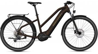 Ghost E-Square Trekking Advanced 27.5 E-Bike Trekking Komplettrad Damen darkchoco/metbrown Mod. 2021
